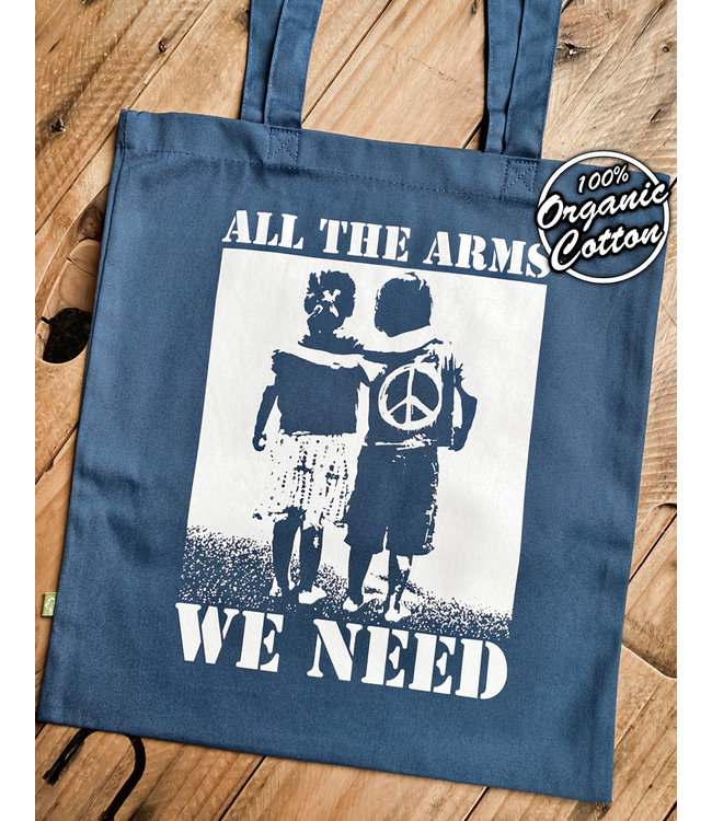 All The Arms We Need - Premium Bio Tasche - Air Force Blue