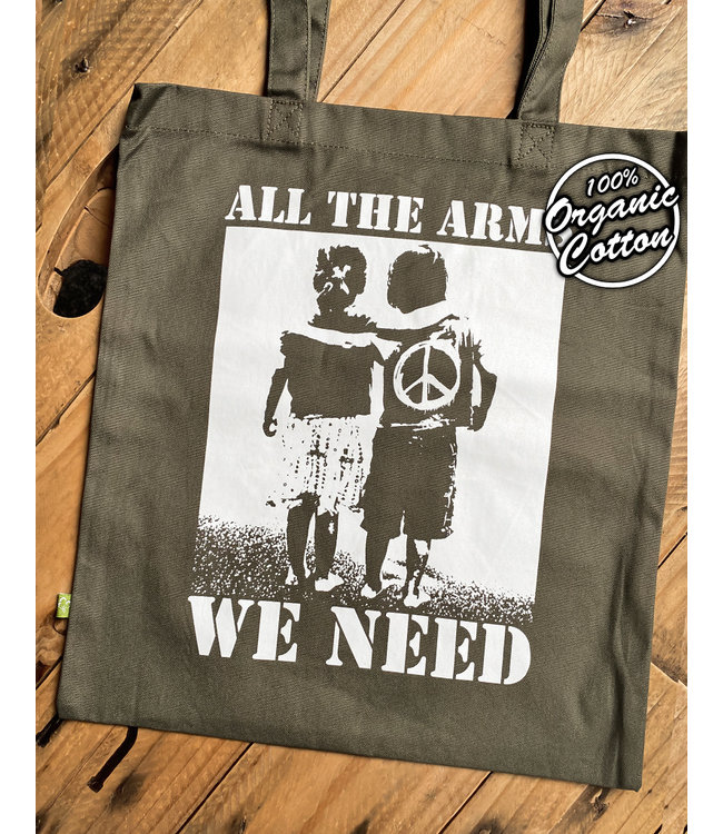 All The Arms We Need - Premium Bio Tasche - Oliv