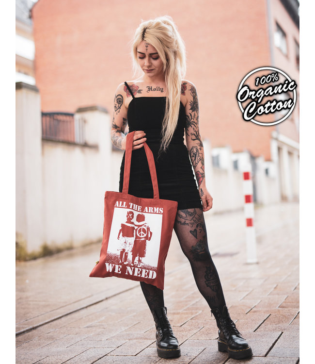 All The Arms We Need - Schwere Bio Tasche - Rust