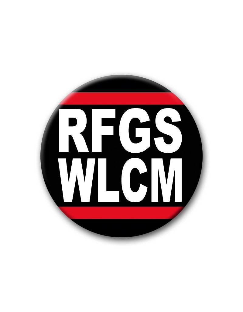RFGS WLCM - Refugees Welcome - Button