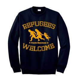 Useless Refugees Welcome - Dark Navy Sweater