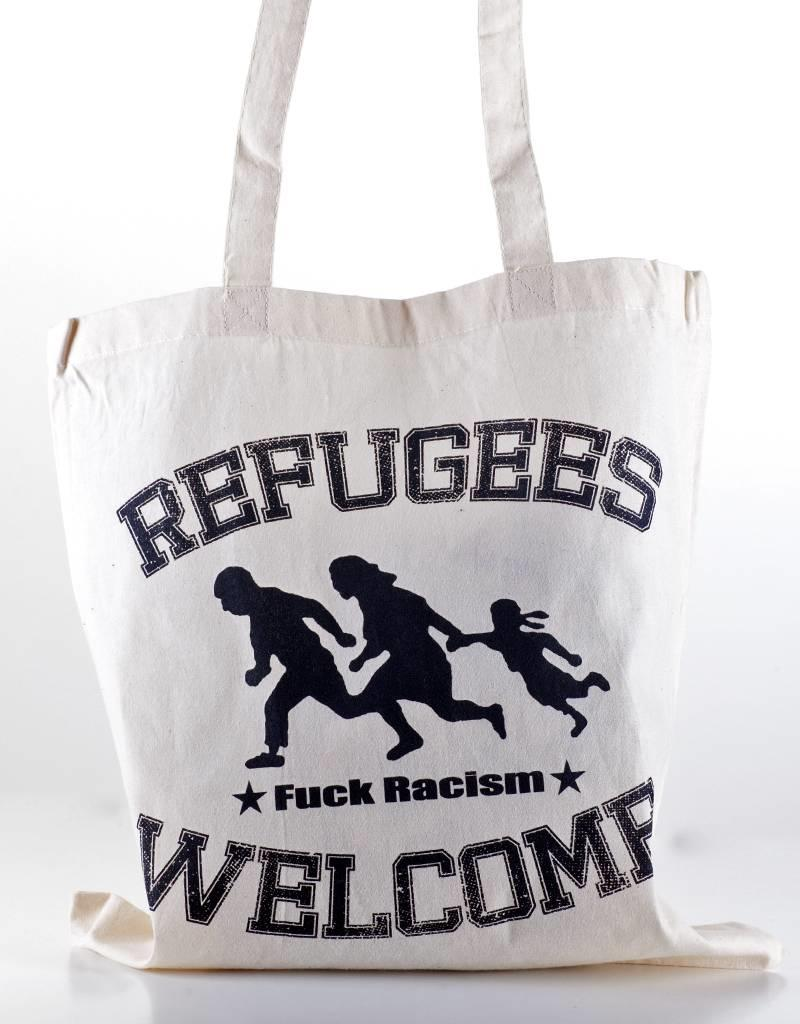 Useless Refugees Welcome - Tasche natural