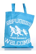 Useless Refugees Welcome - Tasche hellblau