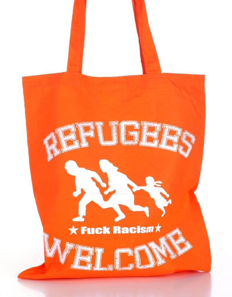 Useless Refugees Welcome - Tasche orange