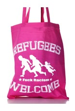Useless Refugees Welcome - Tasche pink