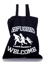 Useless Refugees Welcome - Tasche schwarz