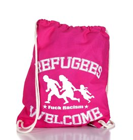 Useless Refugees Welcome - Gymbag pink