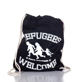 Useless Refugees Welcome - Gymbag schwarz