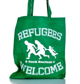 Useless Refugees Welcome - Tasche grün