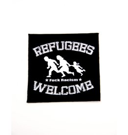 Refugees Welcome - Fuck Racism Patch