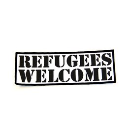Refugees Welcome - Bold - Patch