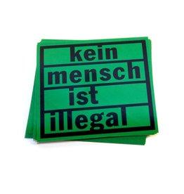 Kein Mensch ist illegal - Stickerpaket