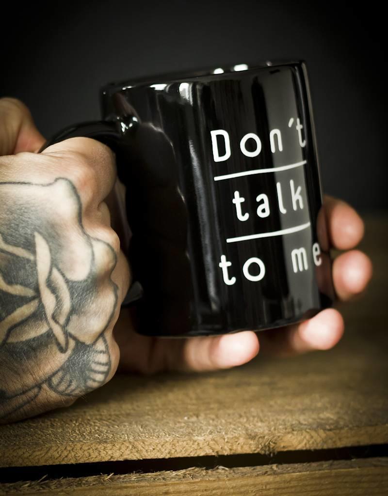 Useless Tasse - Don´t talk to me - Useless