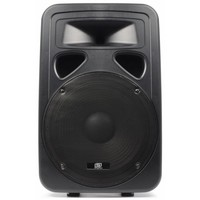 "SkyTec SP1500A ABS Actieve PA speaker 15"" 800W"