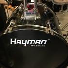 Hayman pro series drumset zwart compleet