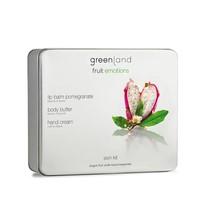 Fruit Emotions, Skin Kit Set, body butter, hand cream dragon fruit-white tea, lip balm pomegranate