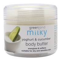 Milky, body butter, yoghurt - cucumber, 150 ml