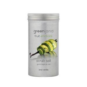 Fruit Emotions, scrub salt, lime-vanilla, 400 gr