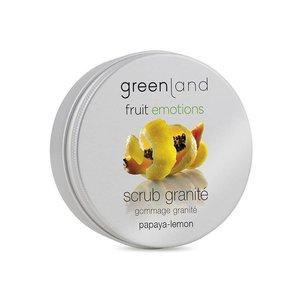 Fruit Emotions, scrub granité 200 ml, papaya-lemon