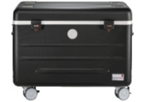 Parat opladen i20-KC trolley koffer voor 16-20 tablets, zonder vakken zwart