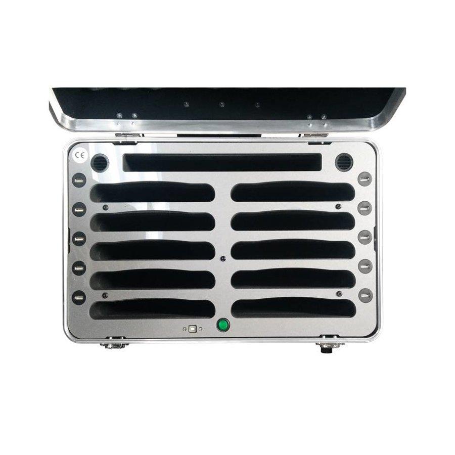 """iPad mini transportkoffer met sync- en laadfunctie voor 10 iPad mini en tablets tot 8"""", iNsync C525-2"""