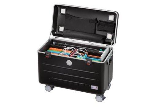 Parat N16 trolley koffer voor tablets met 16 vakken in het zwart
