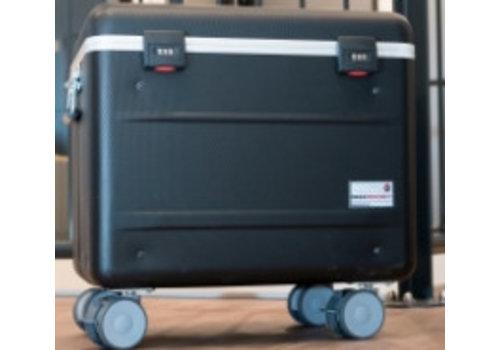 Parat opladen N12 trolley koffer voor notebooks in het zwart