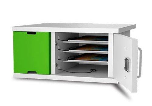 Zioxi laadkast met slot voor 4 iPads tussen 8 en 11 inch