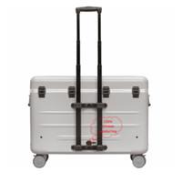 thumb-A16S trolley koffer met 16 vakken zwart inclusief LED micro-USB kabels-2