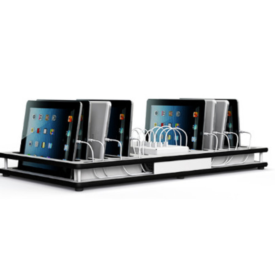 10 iPads, tablets, desktop docking laadstation met synchronisatie-1