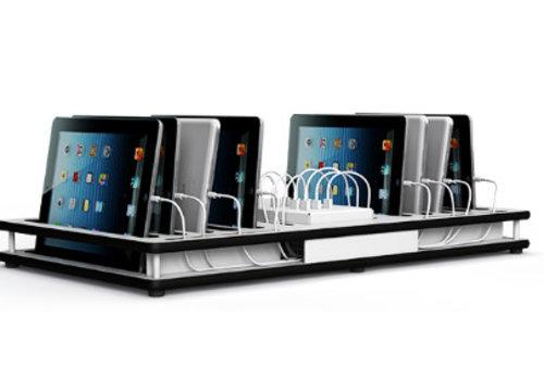 """Zioxi opladen deck voor 10 iPads en 9-11"""" tablets"""