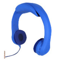 thumb-kidscover safe 'n sound hoofdtelefoon blauw-1