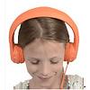 kidscover safe 'n sound hoofdtelefoon oranje