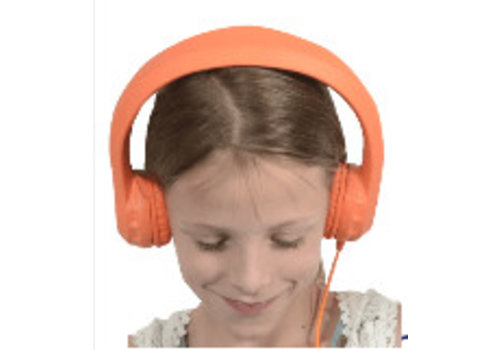 KidsCover kidscover safe 'n sound hoofdtelefoon oranje