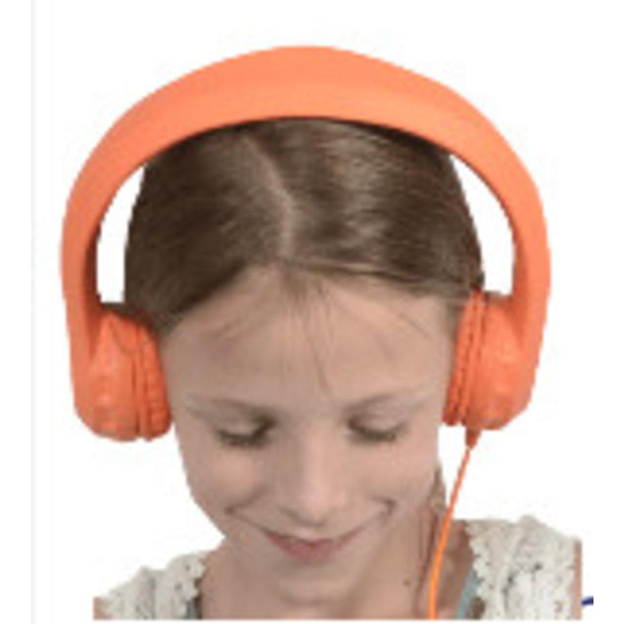 kidscover safe 'n sound hoofdtelefoon oranje-1