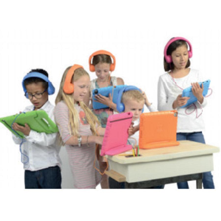 kidscover safe 'n sound hoofdtelefoon oranje-2