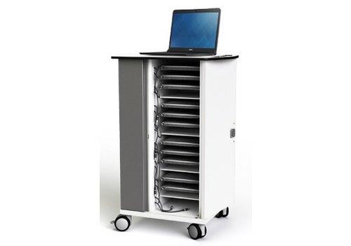 """Zioxi oplaadkast met wielen voor 16 Macbook Chromebook Laptop Tablet tot 14"""""""