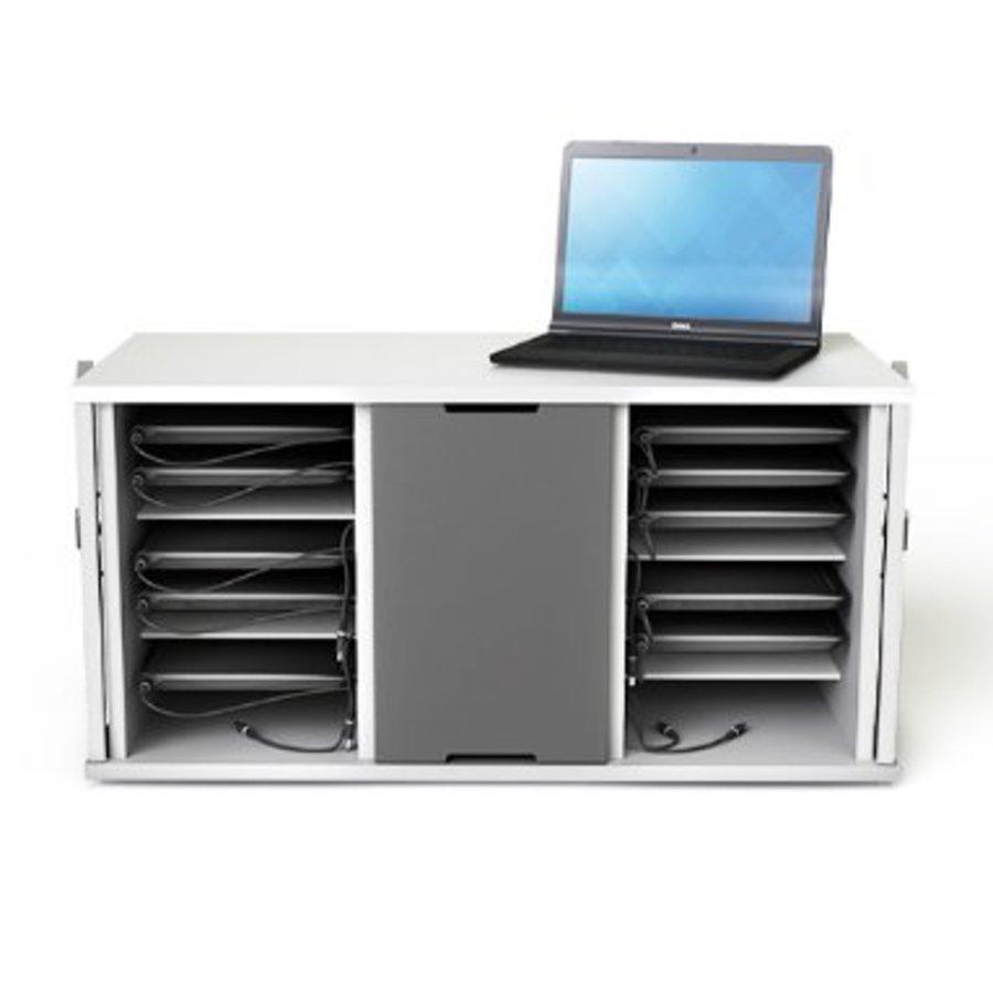 Oplaadkast voor 16  (8+8) Chromebooks tot 14 inch-1