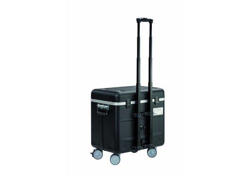 Parat opladen i10 trolley koffer voor tablets met 10 vakken zwart