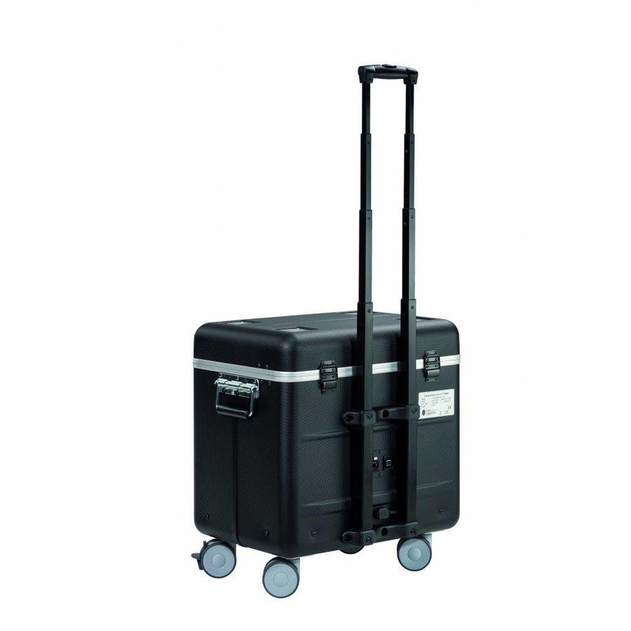 Mobiel oplaadstation voor 10 iPads, i10 trolley koffer, met 10 compartimenten zwart-1