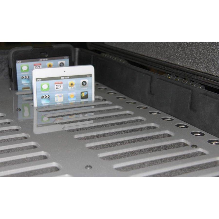 "C14; robuuste koffer voor 30 iPad Air en 10""-11"" tablets, koffer/kar op wieltjes met slot voor transport-4"