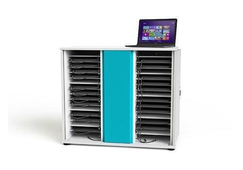 "Zioxi oplaadkast voor 32 Macbooks Chromebooks laptops notebooks tot 15.6"""