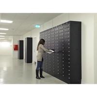 thumb-Note Locker 12 oplaad- en opbergkast met 12 afzonderlijke, afsluitbare en opbergruimtes-5
