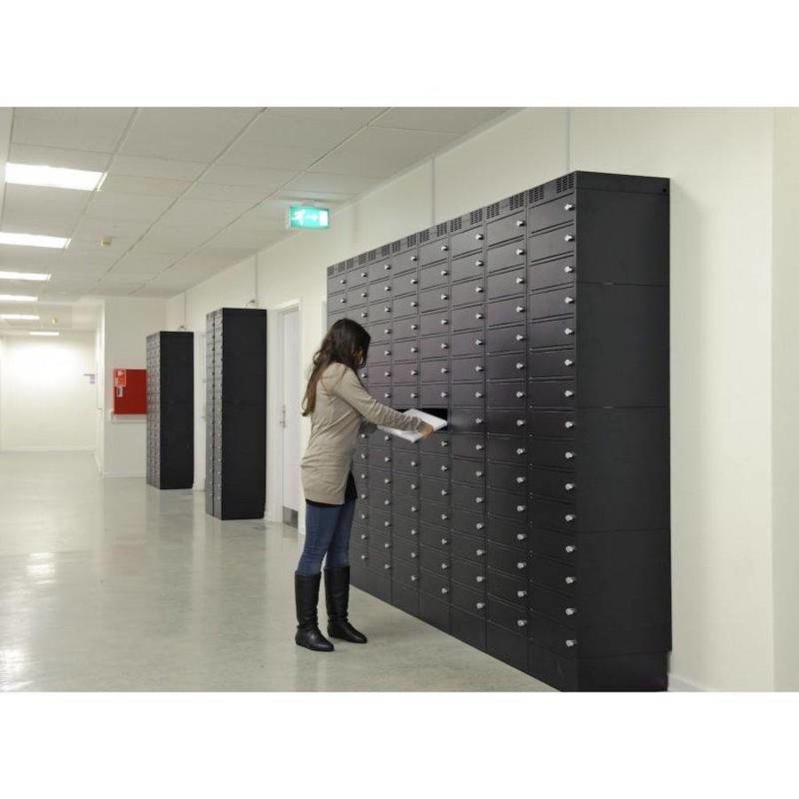 Note Locker 12 oplaad- en opbergkast met 12 afzonderlijke, afsluitbare en opbergruimtes-5