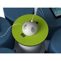 thumb-Verrijdbare stroomzuil met 2 stopcontacten en 2 USB poorten, oplaadbare 50 Ah batterij voor 4 uur stroom-2