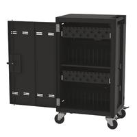 thumb-Verrijdbaar laadstation; opladen van 24 iPads, Tablets, Chromebooks in een afsluitbare stalen kast-1
