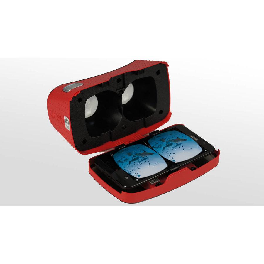 Koffer met 8 VR brillen, tablet en router-3