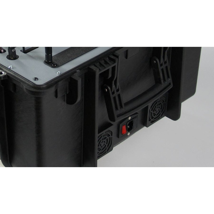 Koffer met 8 VR brillen, tablet en router-6