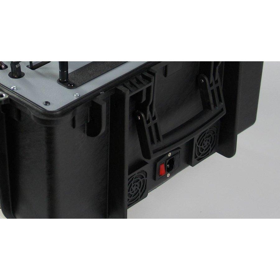 Koffer met 15 VR brillen, tablet en router-5