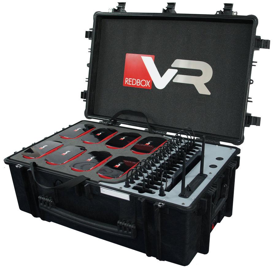 Koffer met 15 VR brillen, tablet en router-1